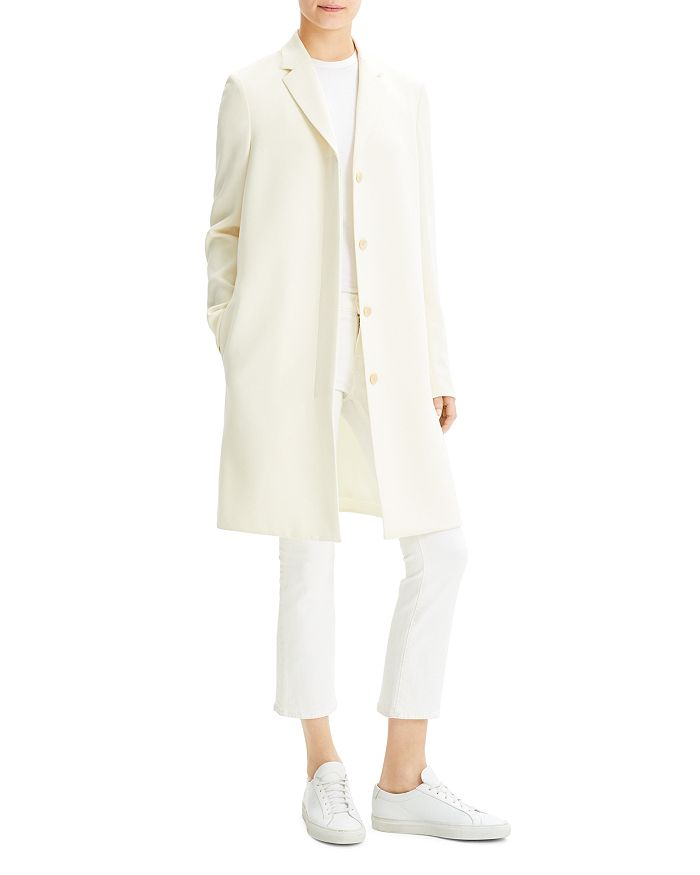 Theory - Transitional Straight-Fit Coat