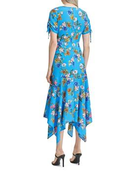 Calvin Klein - Floral Handkerchief-Hem Dress