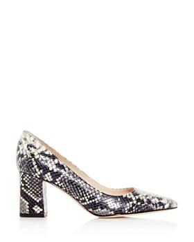 Marc Fisher LTD. - Women's Zala Pointed-Toe Block-Heel Pumps
