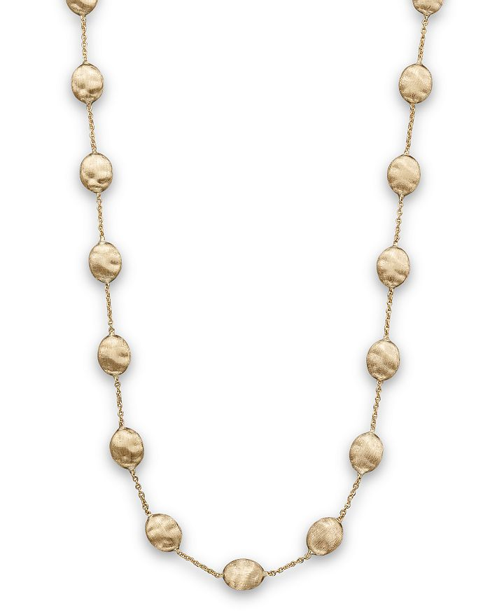 "Marco Bicego - ""Siviglia Collection"" Large Bead Necklace in 18K Yellow Gold, 16"""