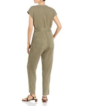 Bella Dahl - Cap-Sleeve Button-Front Jumpsuit