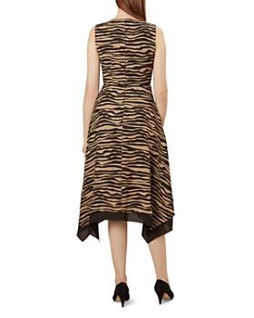 HOBBS LONDON - Madeline Animal-Print Midi Dress