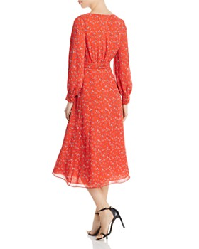 Fame and Partners - Evelyn Floral Wrap Dress