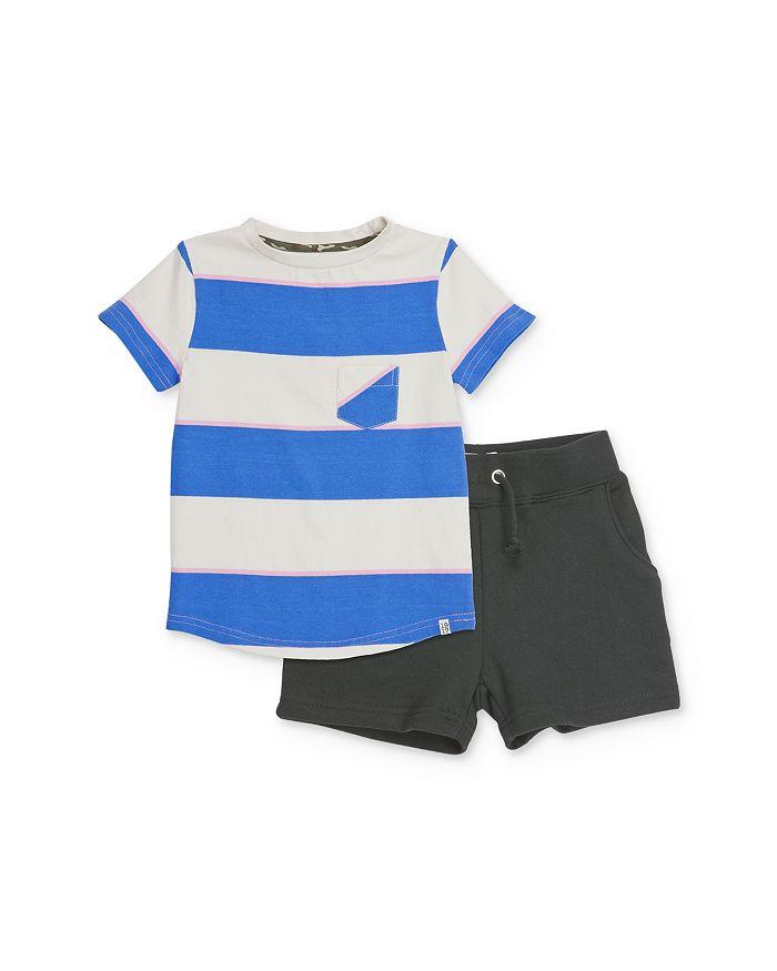 Sovereign Code - Boys' Striped Tee & Jogger Shorts Set - Baby