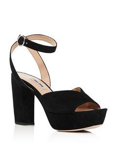482dee500ff18 SCHUTZ Women's Thalia Suede Espadrille Platform Sandals | Bloomingdale's