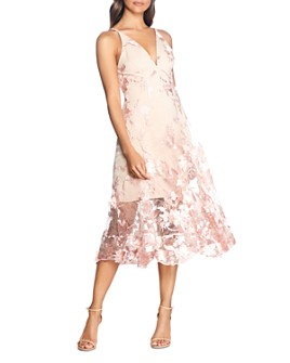 Dress the Population - Audrey Floral Midi Dress