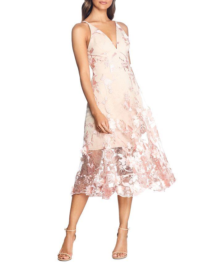 Dress the Population - Audrey Floral Midi Dress