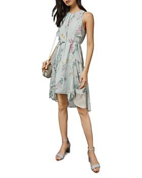 Ted Baker - Pariz Sorbet-Print Floral Dress