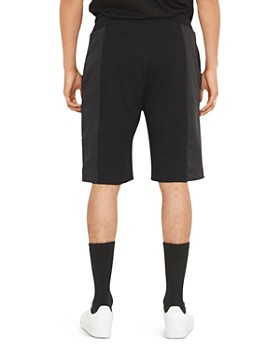 nANA jUDY - Kobe Mixed-Media Fleece Shorts
