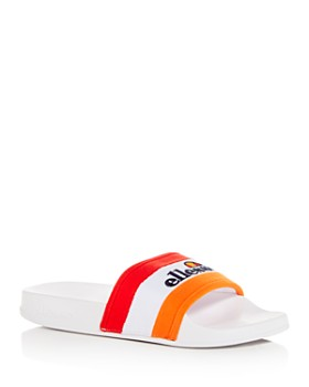 ellesse - Men's Borgaro Logo Slide Sandals