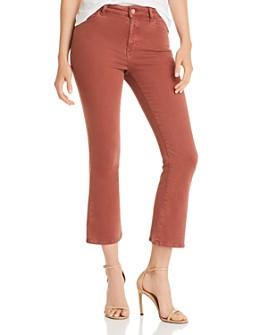 DL1961 - DL1961 x Marianna Hewitt Bridget High-Rise Crop Bootcut Jeans