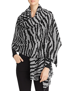 C by Bloomingdale's Dip-Dye Cashmere Travel Wrap - 100% Exclusive
