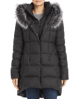 The North Face® - Dealio Faux Fur-Trim Down Parka