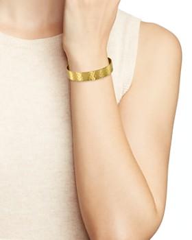 Area Stars - Hammered Bangle Bracelet
