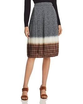 Tory Burch - Printed Silk Skirt