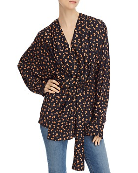 Acler - Jenkins Twist-Front Blouse