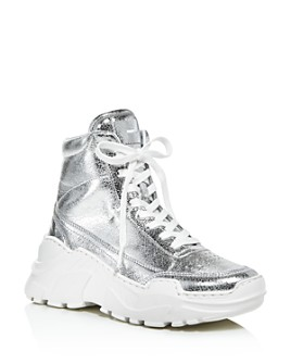 Joshua Sanders - Women's Zenith High-Top Platform Sneakers
