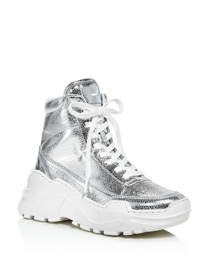 Joshua Sanders - Women's Zenith High-Top Platform Sneakers