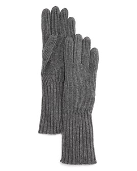 Burberry - Ribbed-Cuff Gloves