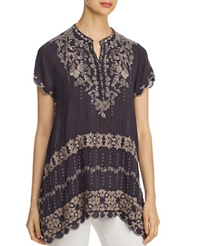 Johnny Was - Fletcher Embroidered Tunic Top