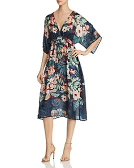 Johnny Was - Annia Printed Silk Dress