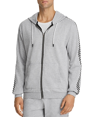 Sovereign Code King Checker Trimmed Hoodie