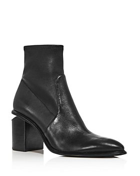 Alexander Wang - Women's Anna Stretch Leather Booties