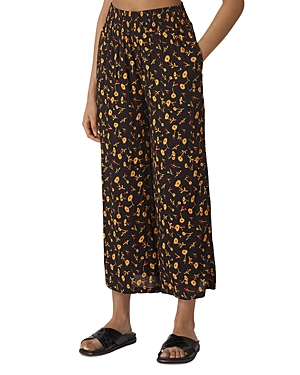 Whistles Aster Floral-Printed Pants