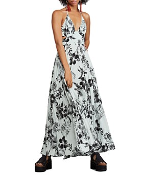 Free People - Lille Tropical Floral Maxi Dress