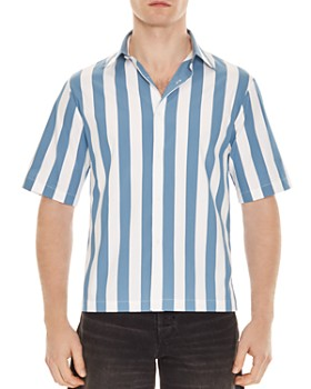 Sandro - Candy Stripe Classic Fit Shirt