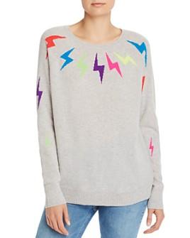 AQUA - Lightning Bolt Cashmere Sweater - 100% Exclusive