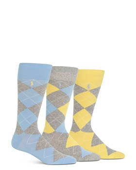 Polo Ralph Lauren - Argyle Socks, Pack of 3