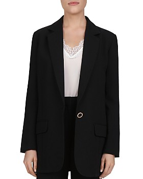 The Kooples - Marta Single-Button Crepe Blazer