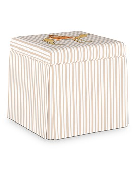 Cloth & Company - Adrianna Storage Ottoman