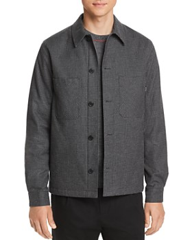 PS Paul Smith - Micro-Houndstooth Shirt Jacket