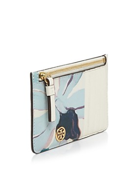 Tory Burch - Robinson Printed Leather Slim Card Case
