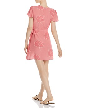 Show Me Your MuMu - Grace Floral-Print Mini Wrap Dress