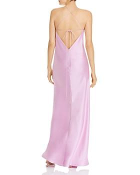 Michelle Mason - Bias-Cut Silk Slip Dress