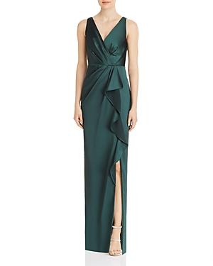 Draped Full-Length Gown