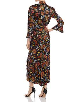Cinq à Sept - Juliana Tie-Waist Silk Midi Dress