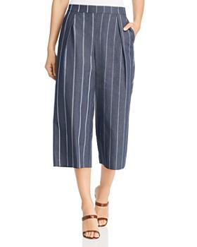 Donna Karan - Pinstriped Culottes