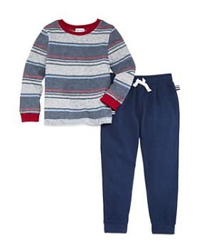 Splendid - Boys' Bayadere Striped Tee & Jogger Pants Set - Little Kid