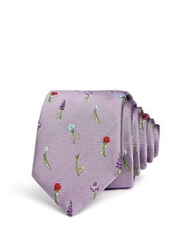 Paul Smith - Wildflowers Silk Skinny Tie