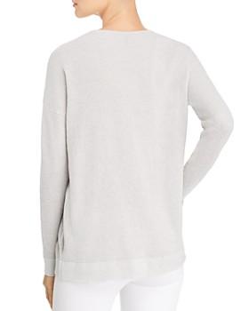 Eileen Fisher Petites - Waffle-Knit Sweater