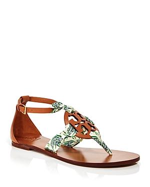Tory Burch Women's Miller Scarf Thong Sandals