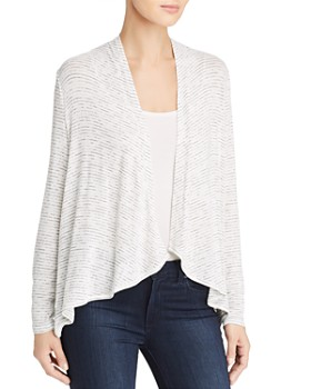 Cupio - Open-Front High/Low Cardigan