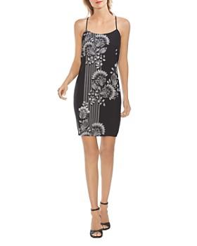 VINCE CAMUTO - Ornate Melody Slip Dress