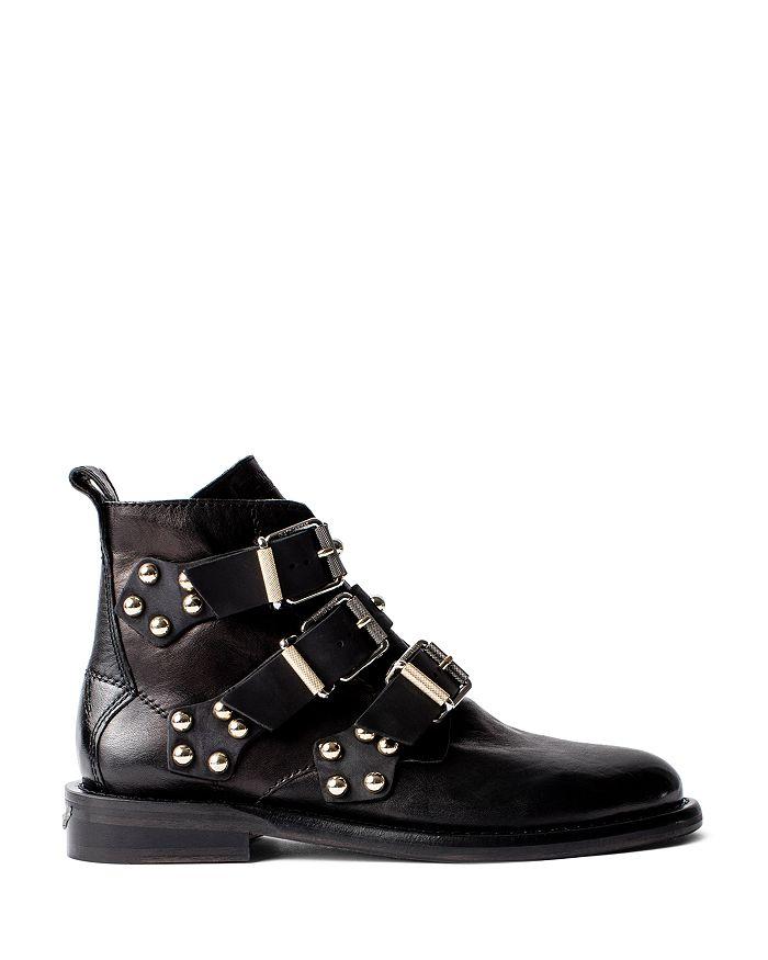 Zadig & Voltaire - Women's Laureen Buckled Ankle Boots