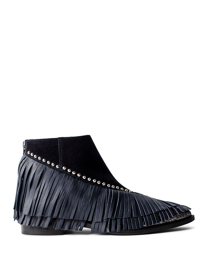 Zadig & Voltaire - Women's Mods Fringe Ankle Boots