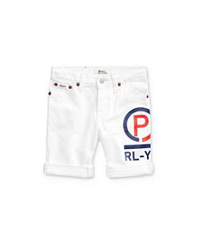 Ralph Lauren - Boys' Denim Logo Shorts - Little Kid